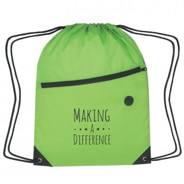 Commitment to Excellence Cinch Close Backpack