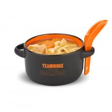 New Drinkware - Teamwork Makes the Dream Work Soup Mug & Spoon