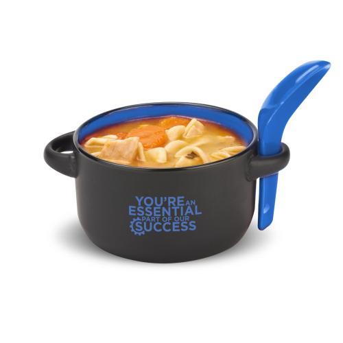 You're An Essential Part Soup Mug & Spoon
