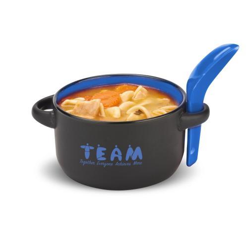 Teamwork People Soup Mug & Spoon