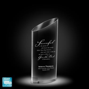 Elliptico Crystal Award