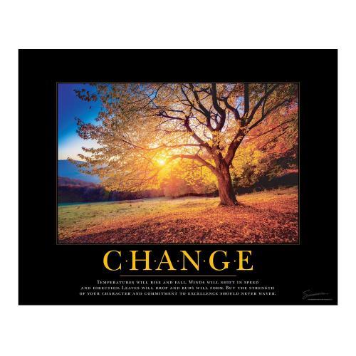 Change Tree Motivational Poster