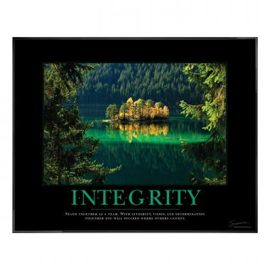 Integrity Island Motivational Poster