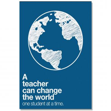 Change The World - Culture Builder Wall Art