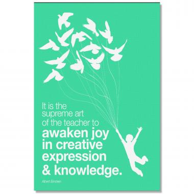 Creative and Joy - Culture Builder Wall Art