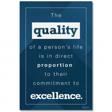 Quality - Culture Builder Wall Art