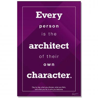 Architect of Character - Culture Builder Wall Art