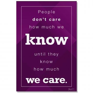 How Much We Care - Culture Builder Wall Art