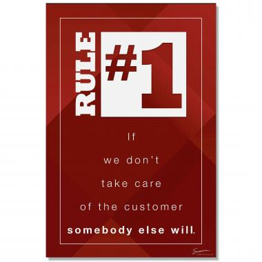 Rule Number One - Culture Builder Wall Art