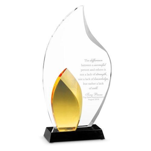 Amber Flame Crystal Award