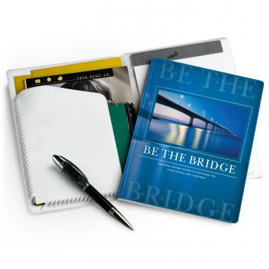 Be the Bridge Colorbrite Jr. Padfolio