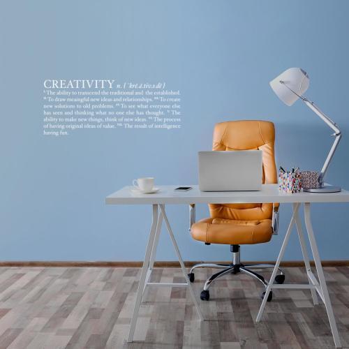 Definition of Creativity Vinyl Wall Decal