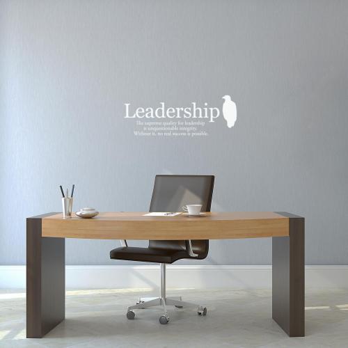 Leadership Eagle Vinyl Wall Decal