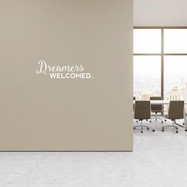 Dreamers Welcome Vinyl Wall Decal