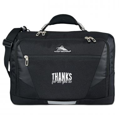 Personalized Executive Tech Messenger Bag