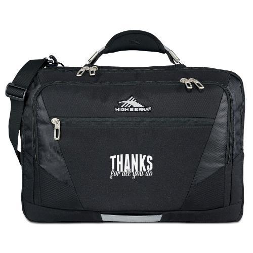 Personalized Executive Tech Messenger Bag