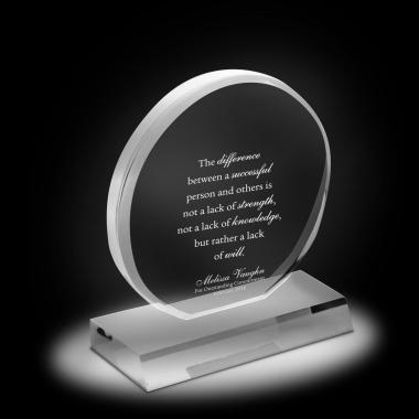 Exceptional Acrylic Award