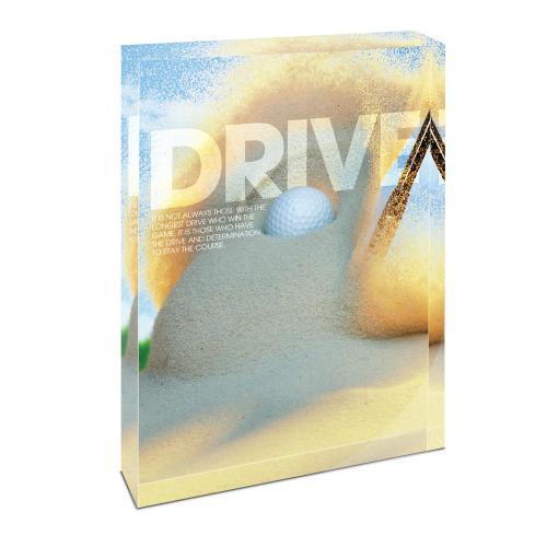 Drive Golf Infinity Edge Acrylic Desktop
