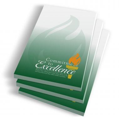 Commitment to Excellence Notepads