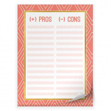 Pros & Cons: Productivity Pad