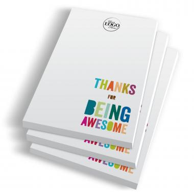 Thanks for Being Awesome Notepads