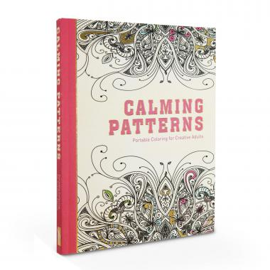 Calming Patterns Adult Coloring Book