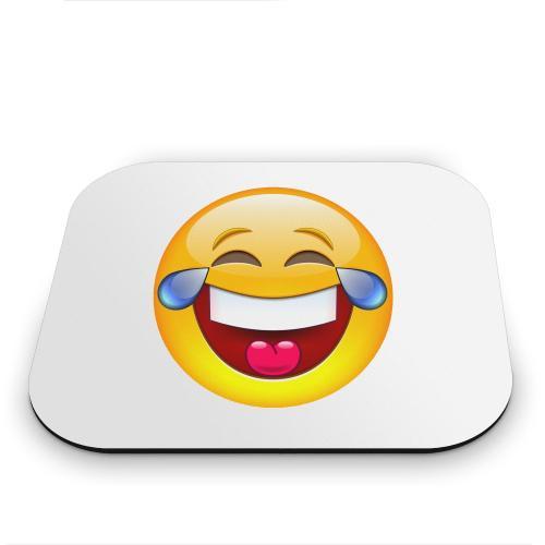 Laughing Emoji Mouse Pad