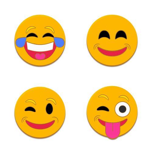 Emoji Lapel Pin Variety Pack