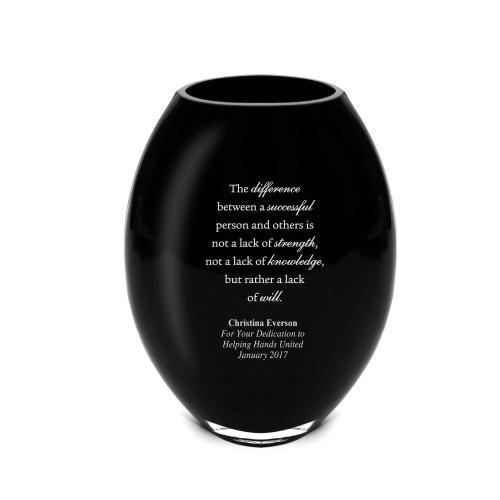 Vast Onyx Vase