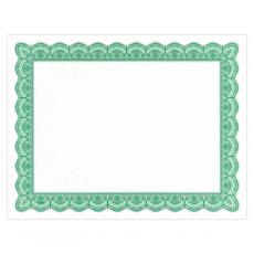 Classic Border - Green Bright Impressions Certificate Paper