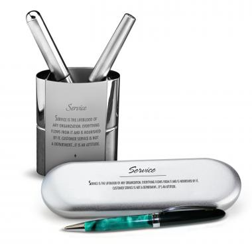 Service Chrome Pen Gift Set