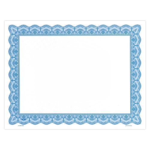 Blue Bright Impressions Certificate Paper