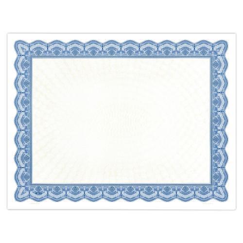 Blue Classic Impressions Certificate Paper