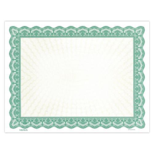 Green Classic Impressions Certificate Paper