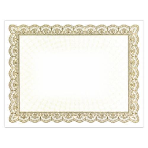 Gold Classic Impressions Certificate Paper