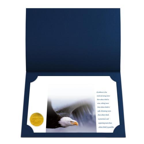 Excellence Eagle Certificate Paper Bundle