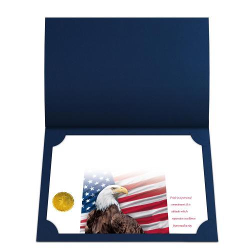 Pride Eagle Certificate Paper Bundle
