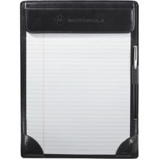 Memo Pads General - Windsor Reflections - Ultrabond clipboard with back pocket for documents and elastic pen loop