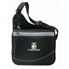Messenger Bags - Incline - 600d polycanvas urban messenger bag with a zippered main compartment
