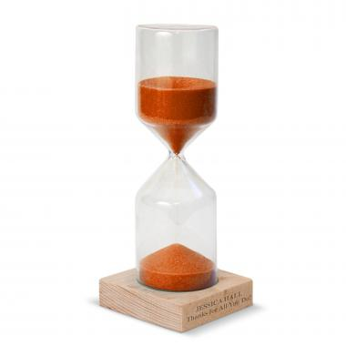Orange Personalized Sand Timer