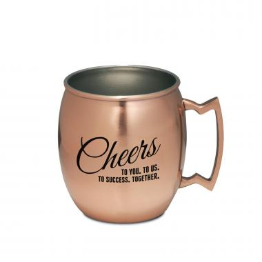 Cheers to Success Moscow Mule Mug