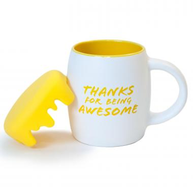 Thanks for Being Awesome 14oz Barrel Mug