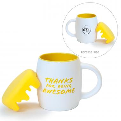Thanks for Being Awesome 14oz Barrel Mug