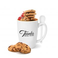 Drinkware - Thanks for All You Do Gold Rimmed Bistro Mug