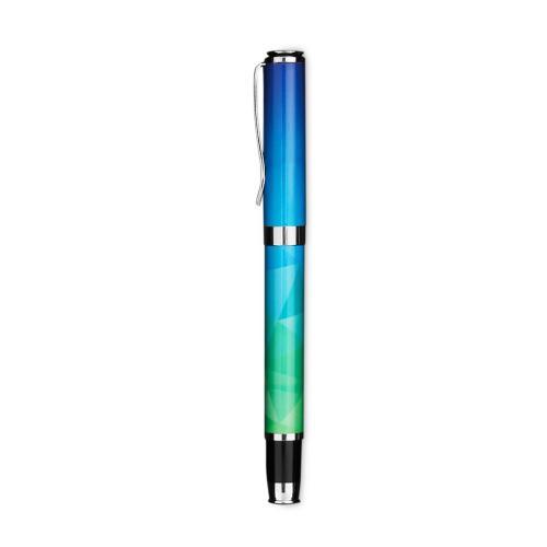 Blue Geometric Gift Pen