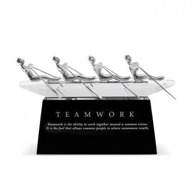 Teamwork Rowers Executive Sculpture