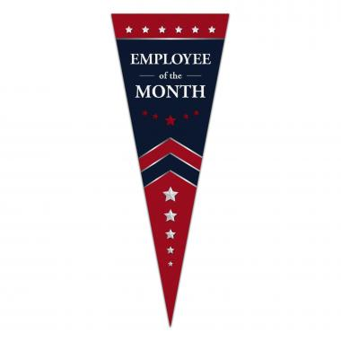 Employee of the Month Praise Pennant