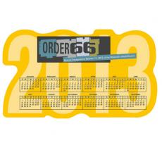 Calendars Magnetic - 20 Mil. -  Large calendar magnet made from recycled, flexible magnet sheets