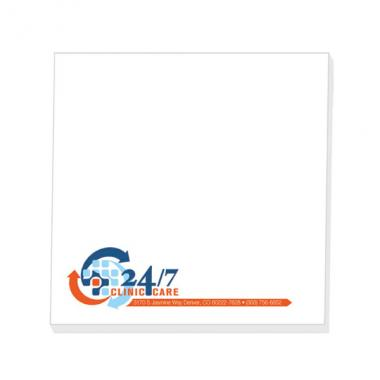 25 Sheets -  Adhesive notepad, 4