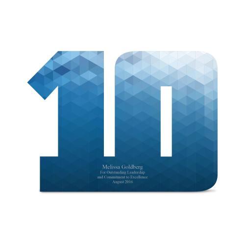 10-19 Years of Service Acrylic Award